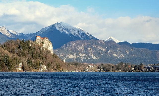 It's a 20-minute drive from Bled to the start of the Begunjščica trail.