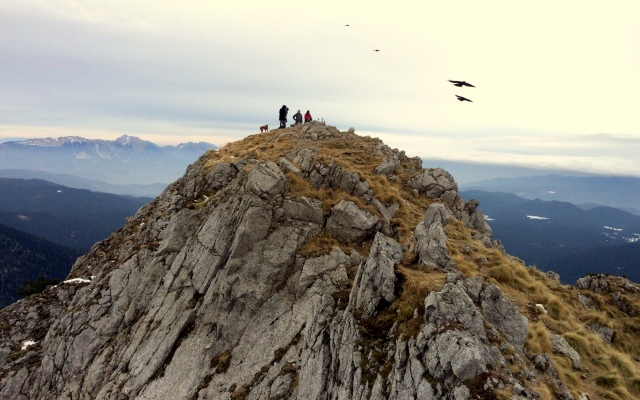 Viševnik is the most popular mountain in Slovenia at over 6,500 ft (2,000 m).