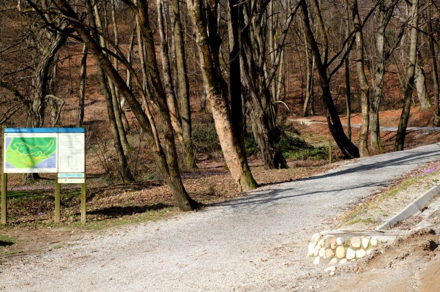 The trail to Rožnik is favored by all joggers, bikers and walkers. Photo by: Exploring Slovenia.