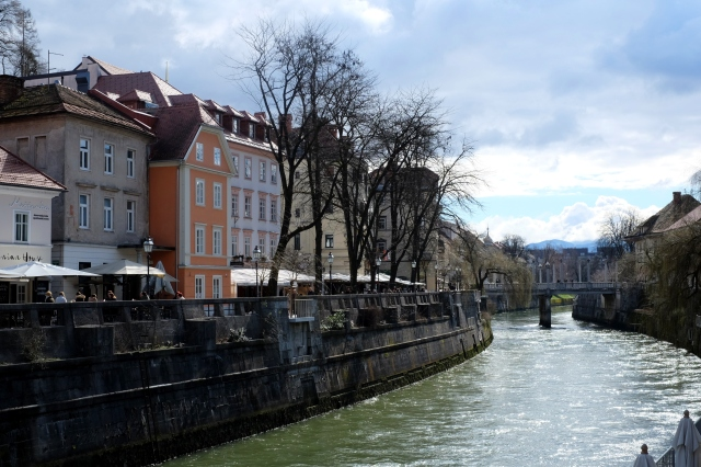 What's up next? A quiet afternoon stroll to the vibrant Ljubljanica embankment called Špica and from there to the wooded slopes of Golovec. Photo by: Exploring Slovenia.
