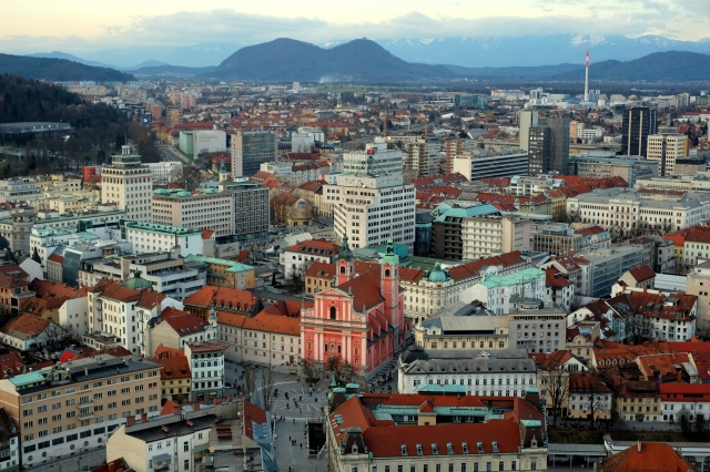 While you can easily lose the sense of distances between all the places you've just visited, a view from the tower will give you a much better perspective plus additional ideas for the days to follow. Photo by: Exploring Slovenia.