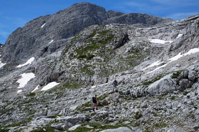 Headed towards Mt. Križ.