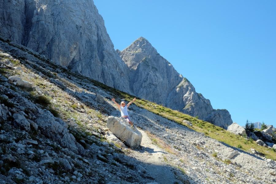 Outdoor adventure below Mt. Mojstrovka
