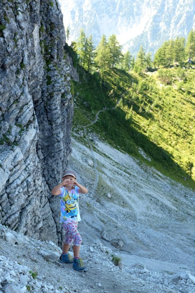Enjoying every step of the way; a Hanzova trail to Slemenova špica