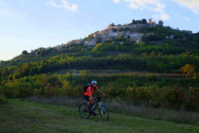 Cycling Parenzana; Buje - Grožnjan - Motovun - Vižinada -Poreč