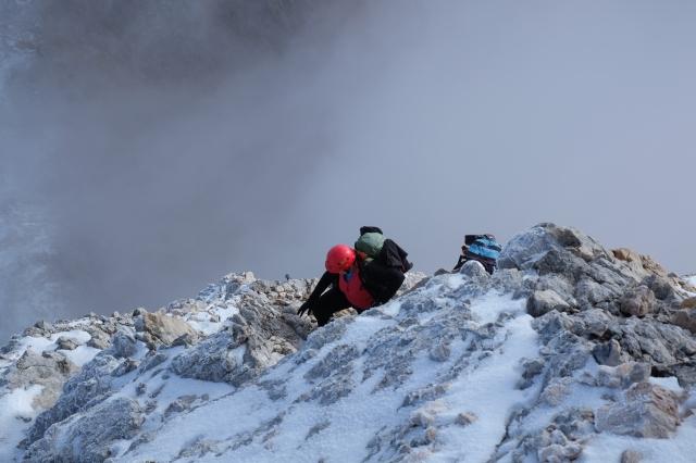Ascending to Triglav