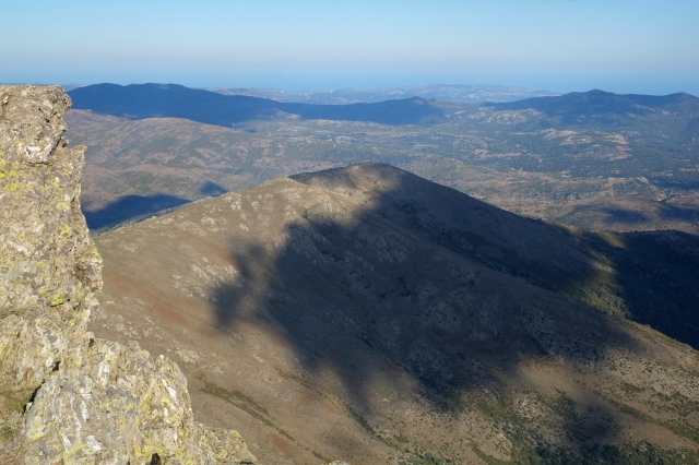 View from Punta La Marmora, the highest summit of Sardinia