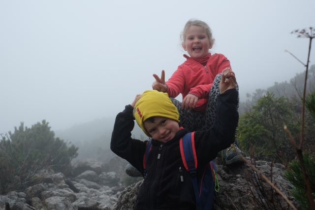 Kids having fun in the mountains. Photo by: Exploring Slovenia