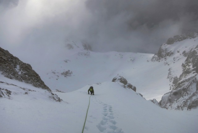 Climbing Triglav with a mountain guide