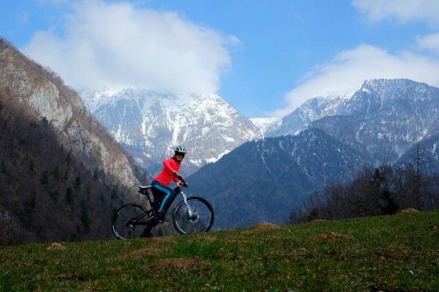Cycling from Ljubljana to Jezersko