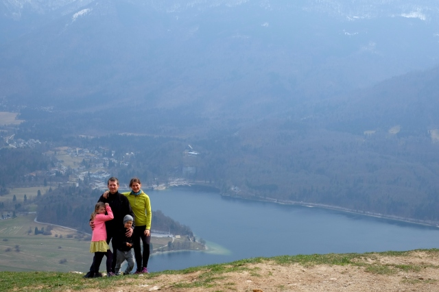 My other Instagram top photo spot over Lake Bohinj at Vogar.