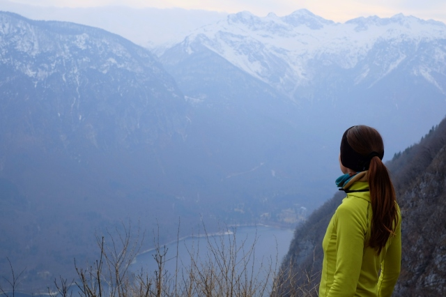 My top Instagram photo point over Lake Bohinj from Vogar. Slovenia
