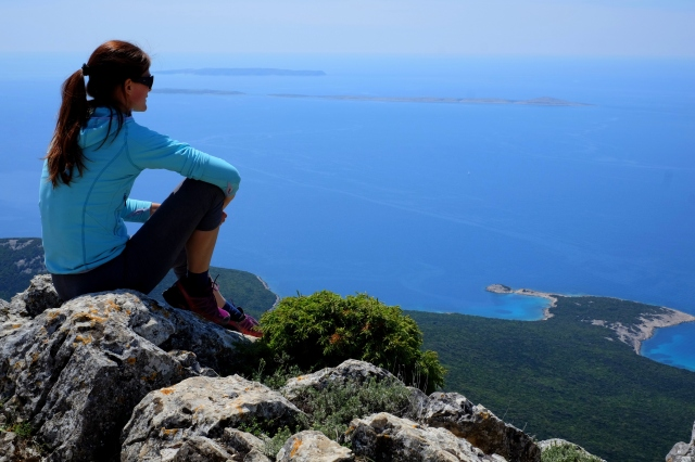 Hiking Televrin, Lošinj, Croatia