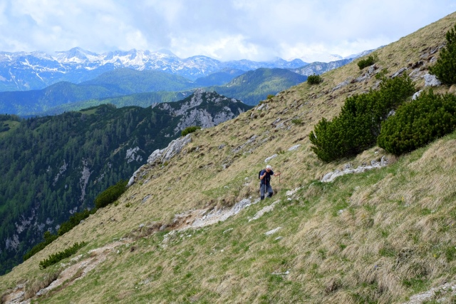 Hiking Viševnik, a beautiful mountain above Bled