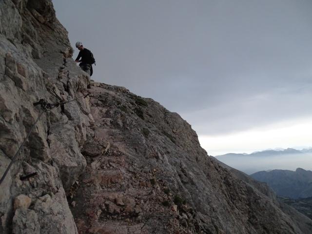 Climbing up to Triglav
