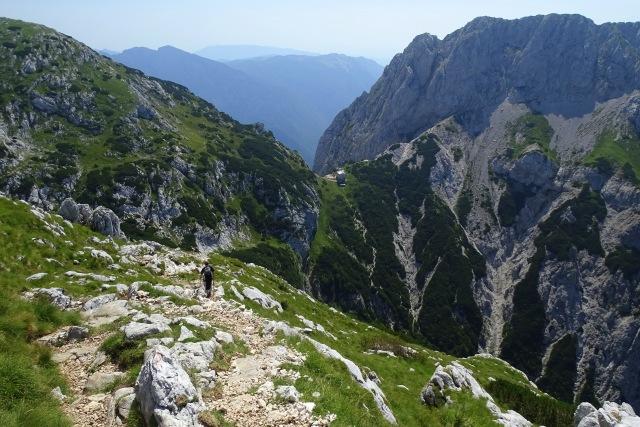 Above Kokrško Sedlo, Kamnik-Savinja Alps