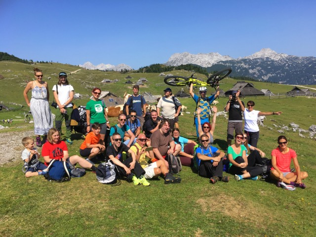 InstaMeet, hosted by @IgSlovenia and @VisitLjubljana, on Velika Planina