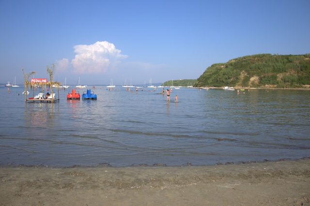 Susak, the main beach