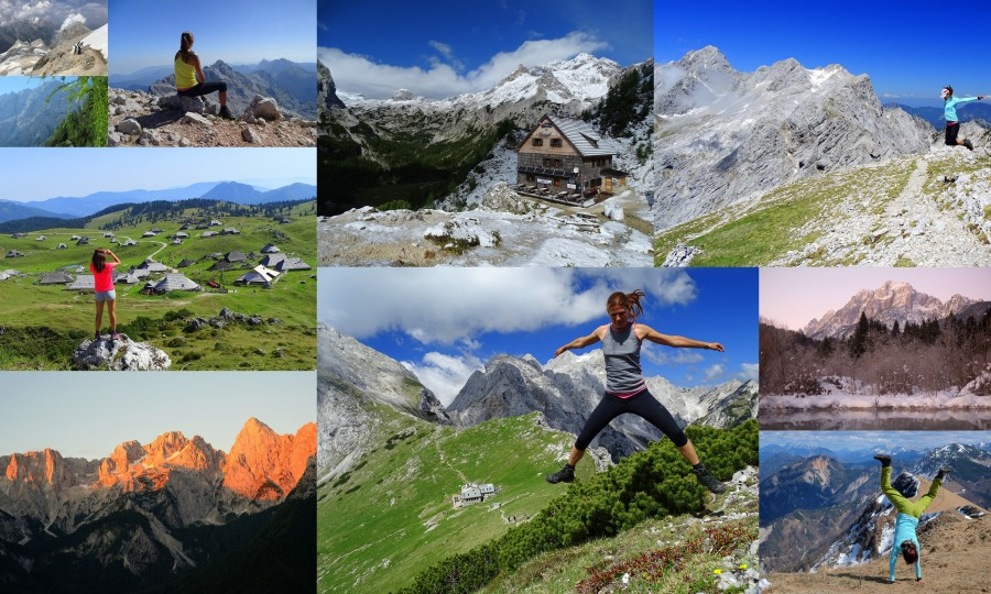 Alpine Slovenia, Slovenian Alps, Slovenia, Alps, time-lapse video
