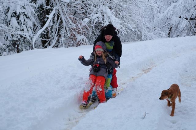 Family ski touring, Vrhnika