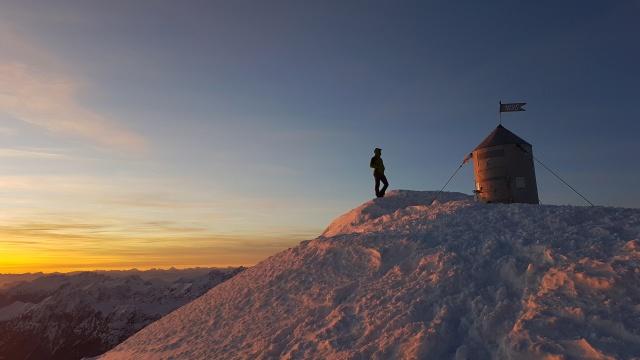 Triglav for sunset, Julian Alps, Slovenia