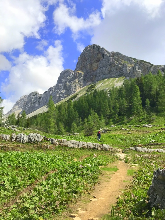 On the way to the Triglav Lakes