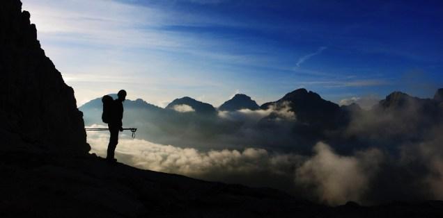 Hiking in the Julian Alps