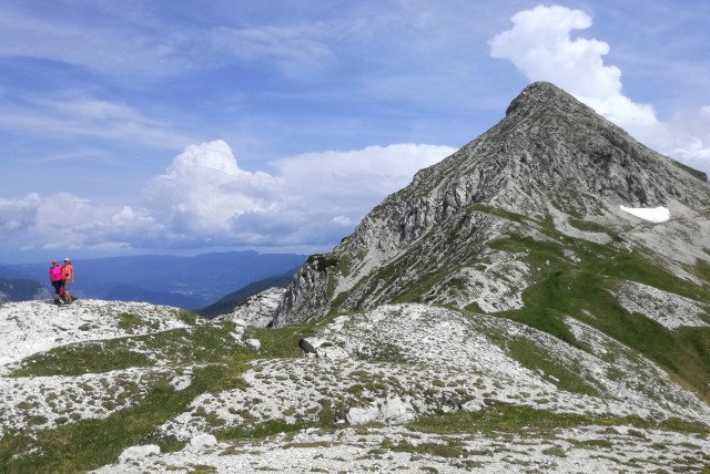 Hiking to Bogatin above Komna, Triglav National Park, Slovenia