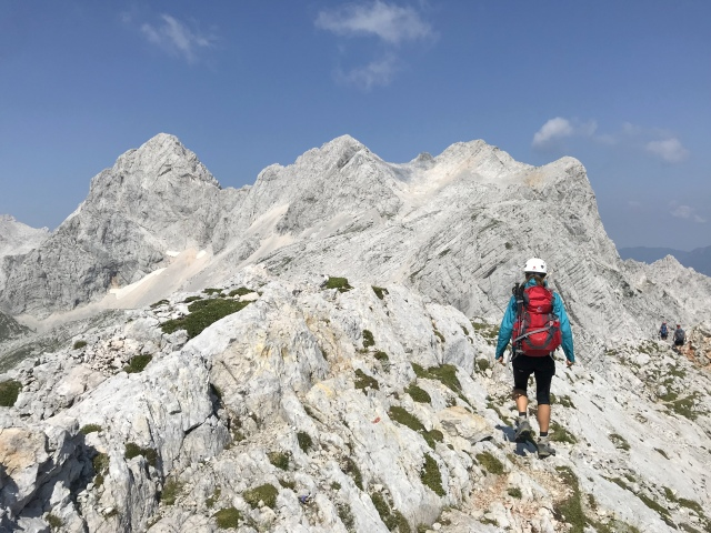 Hiking in the Kamnik-Savinja Alps, Slovenia