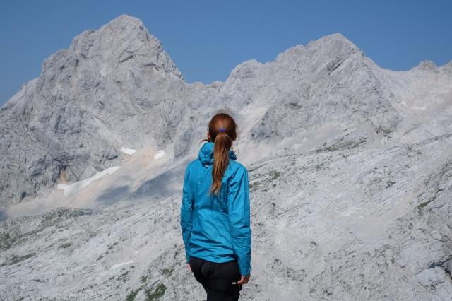 At the top of Mt. Turska Gora overlooking Mt. Skuta, Rinka