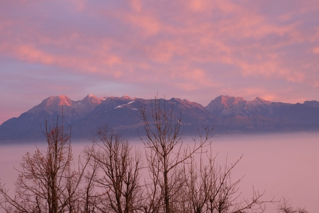 The Kamnik-Savinja Alps for sunrise