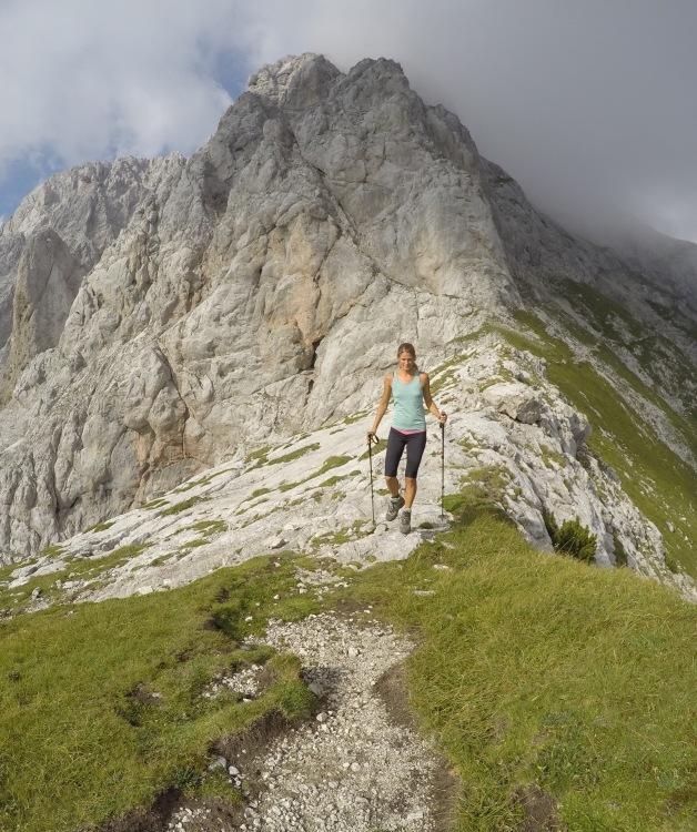 Hiking in the Kamnik-Savinja Alps, Ojstrica, Slovenia