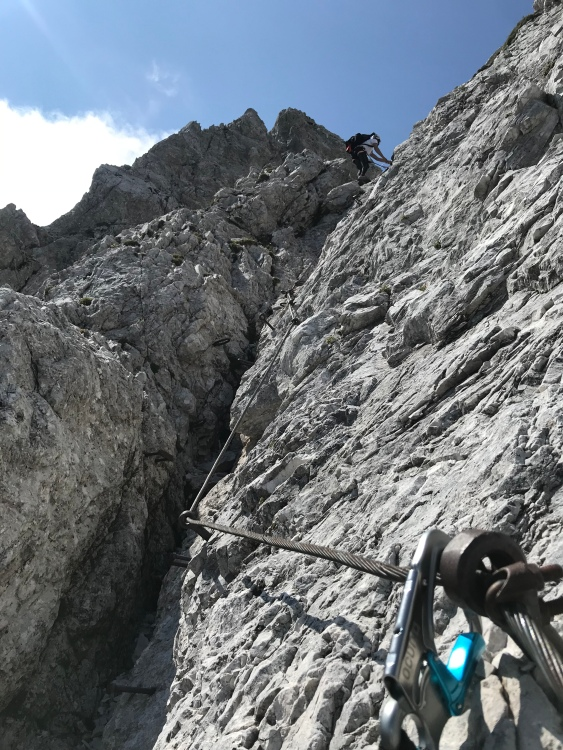 Climbing in the Kamnik-Savinja Alps
