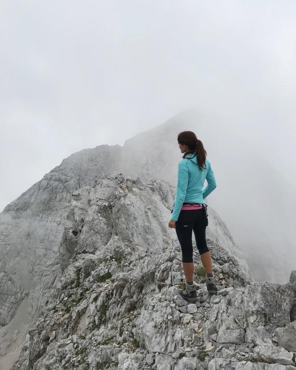 At the top of Mt. Koroška Rinka