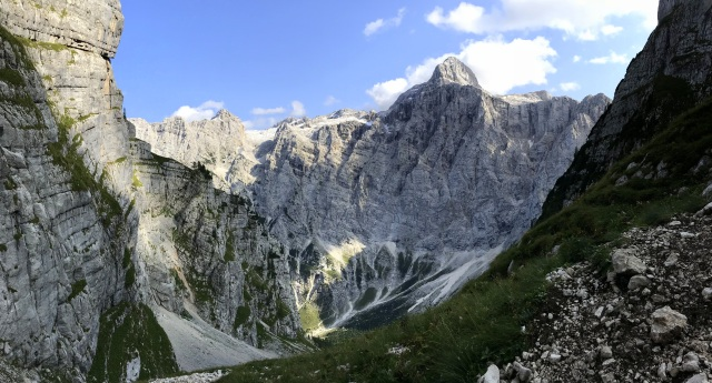 The Triglav North Face, Julian Alps, Slovenia