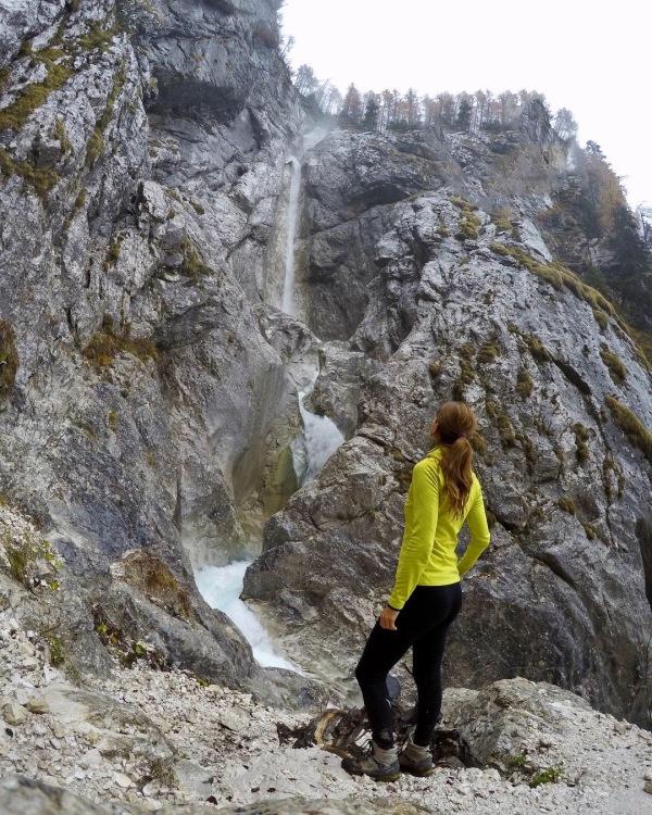Upper Martuljek Fall, Triglav National Park, Slovenia