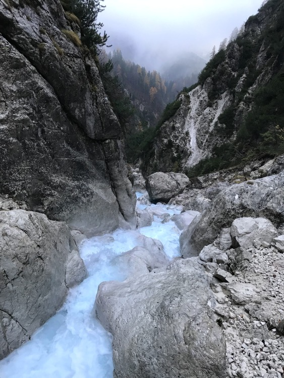 Upper Martuljek Fall, Triglav National Park, Slovenia