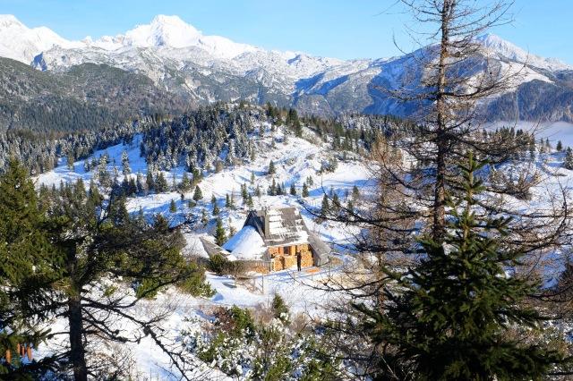 Koca.si resort on Velika Planina, Visit Ljubljana, Slovenia