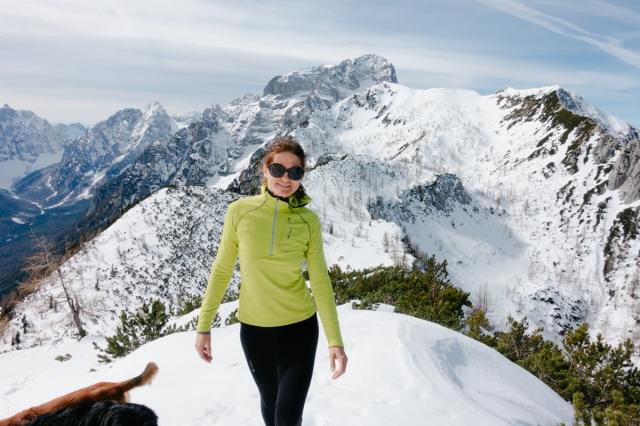 Hiking in the Julian Alps, Vrtaški vrh, Slovenia, Triglav National Park